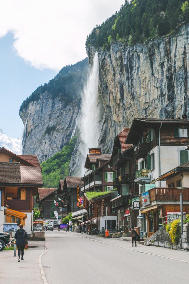 The Most Beautiful Place In The World Lauterbrunnen Switzerland The Overseas Escape Bloglovin